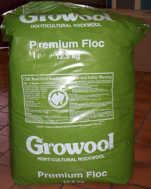 GROW WOOL  Granulated (12.5 kilos)